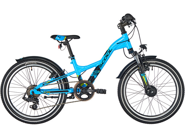 s'cool XXlite 20 7-S alloy Kids, lightblue matt